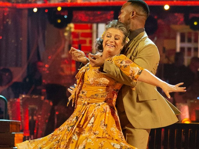 Strictly viewers spot 'dark horse' as Caroline Quentin tipped for final