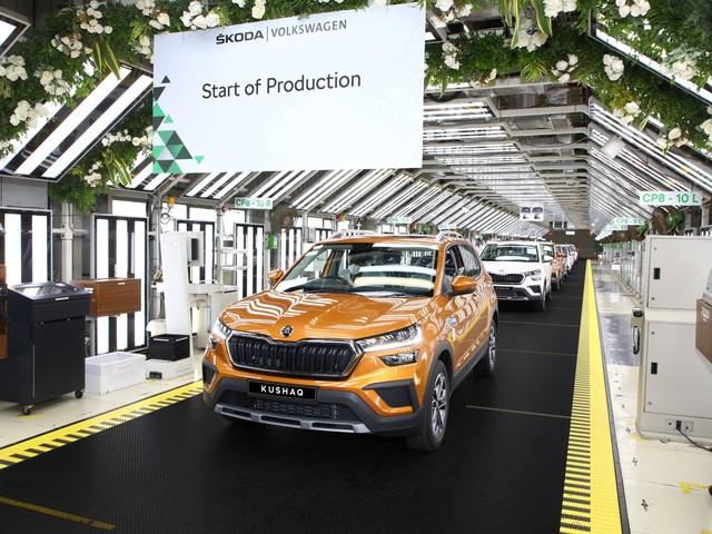 All-New Skoda Kushaq Starts Production in India on MQB-A0-IN Platform