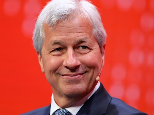 JPMorgan's Jamie Dimon says he disagrees with the Fed on inflation being transitory — and once unemployment hits 4.5%, the central bank will start tapering
