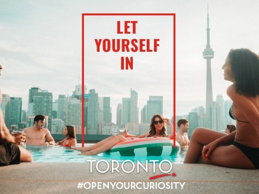 Tourism Toronto launches new Let Yourself In ad campaign