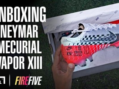 Video: Unboxing Neymar Nike Mercurial Vapor 13 'Speed Freak' & the adidas X99.1