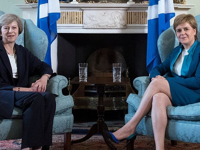 Theresa May tells Sturgeon to end her 'tunnel vision' on a second Scottish independence referendum