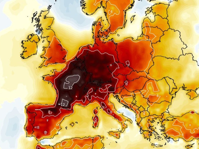 Europe to bake in ANOTHER 40C heatwave next week after record-breaking June scorcher