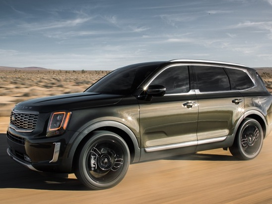 Boxy 2020 Kia Telluride Debuts with Seating for 8