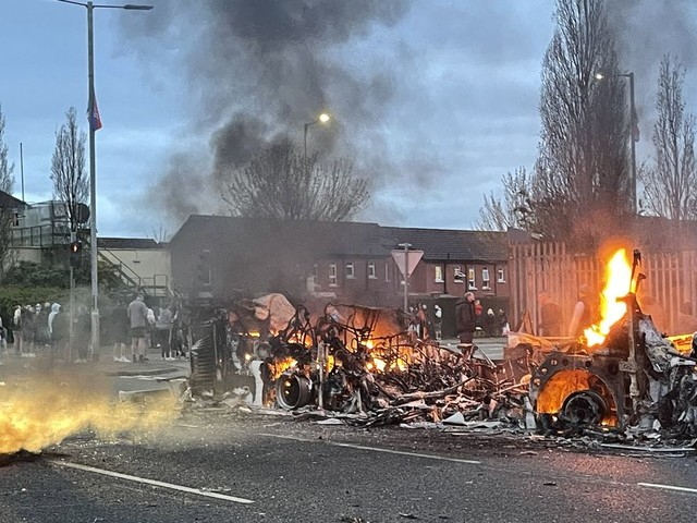 Violence in Northern Ireland Condemned By Boris Johnson After Another Night Of Unrest