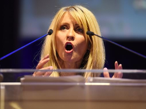 Esther McVey erupted at Amber Rudd in Commons spat after she took her job