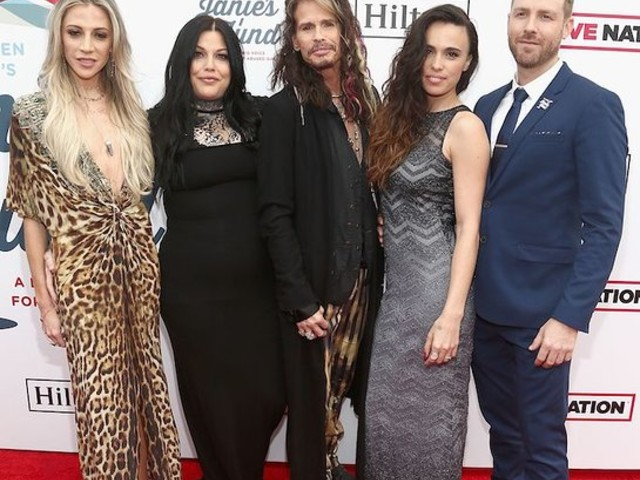 Steven Tyler Celebrates Second Annual GRAMMY Awards Viewing Party Benefiting Janie's Fund