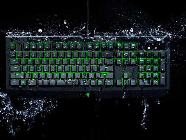 New Waterproof Razer BlackWidow Ultimate Mechanical Gaming Keyboard