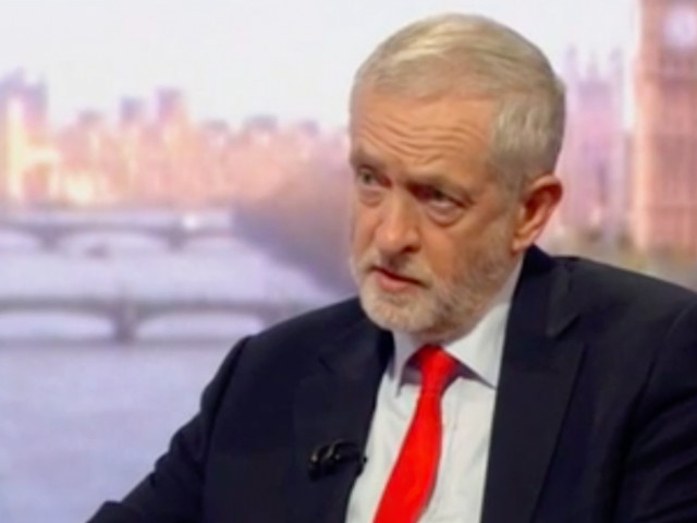 Corbyn says a Labour government would stop all air strikes in Syria