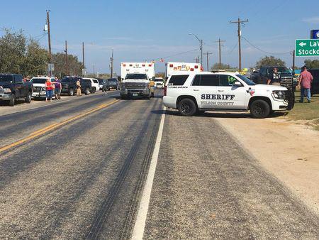 Gunman kills at least 26 worshipers at small-town church