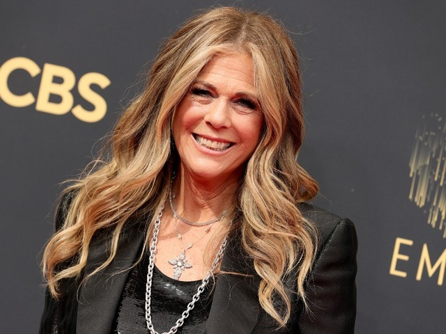 Yes, Rita Wilson Dropped a Jay-Z Lyric on the Emmys Red Carpet (Video)