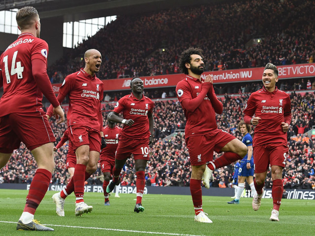 Premier League title race: Mo Salah's wonder goal puts Liverpool back on top