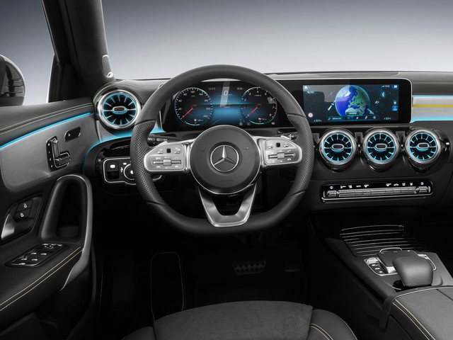 2019 Mercedes-Benz A-Class interior revealed, looks impressive