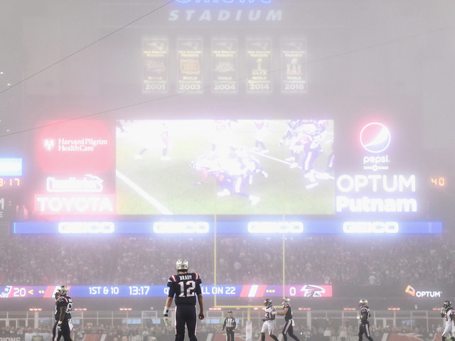 'Sunday Night Football' Looked Like A Halloween Horror Movie