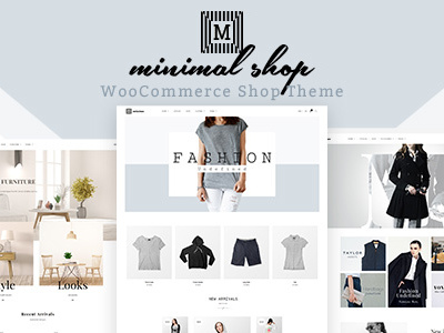 Minimal Shop | Multipurpose WordPress WooCommerce Theme (Shopping)