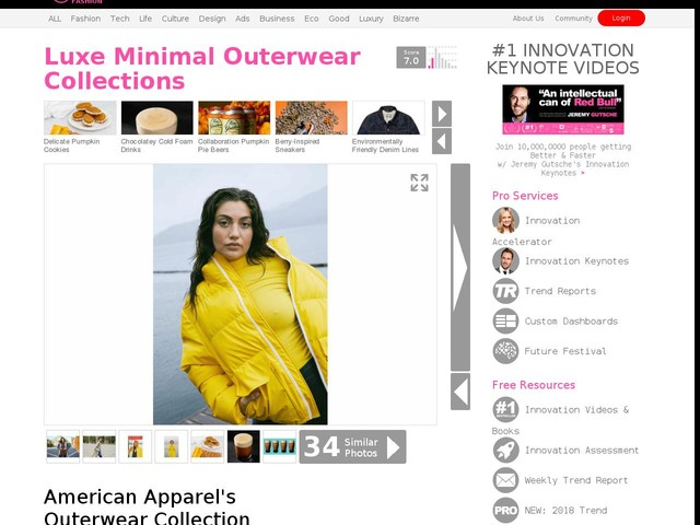 Luxe Minimal Outerwear Collections - American Apparel's Outerwear Collection Focuses on Longevity (TrendHunter.com)