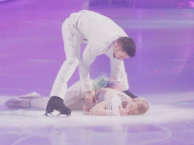 Dancing On Ice: Sylvain Longchambon Explains Why Jane Danson Fainted