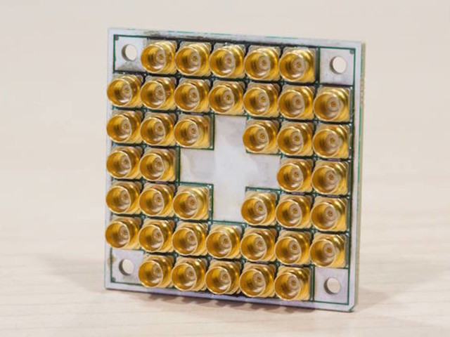 Look! Over there! Intel's cooked a 17-qubit chip quantum package