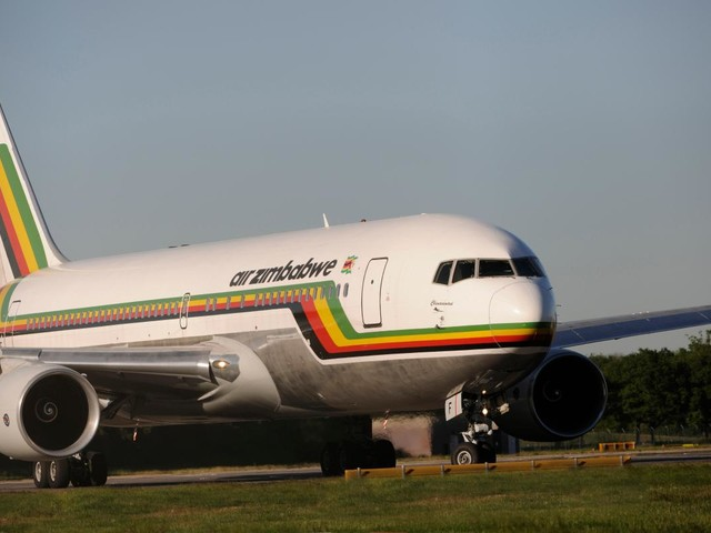 Boeing 767 with 'engine on fire' makes emergency landing with fire crews on standby at South African airport reports claim