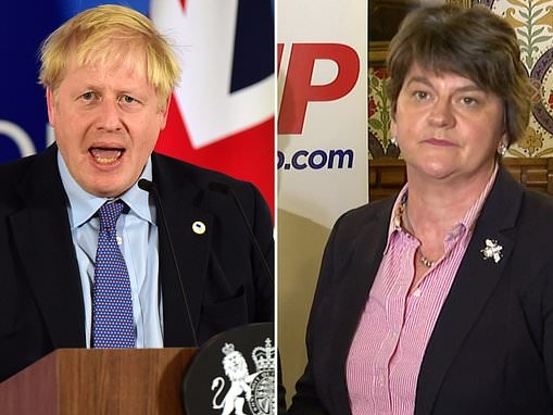 Unionists accuse Boris Johnson of 'driving coach and horses through Good Friday agreement'