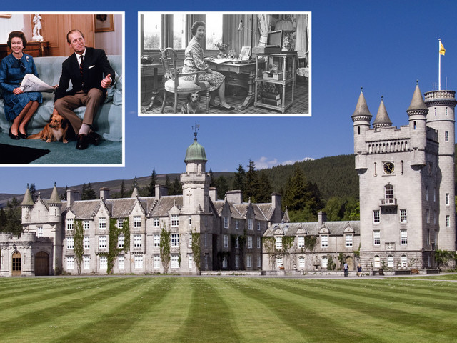 Inside £115m Balmoral Castle where the Queen spends her summer holidays, including 52 bedrooms, Prince Philip's vegetable patch and A LOT of bats