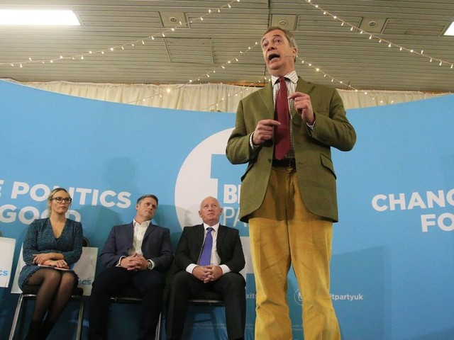 Nigel Farage says he won't vote in the general election - after standing aside for Tories