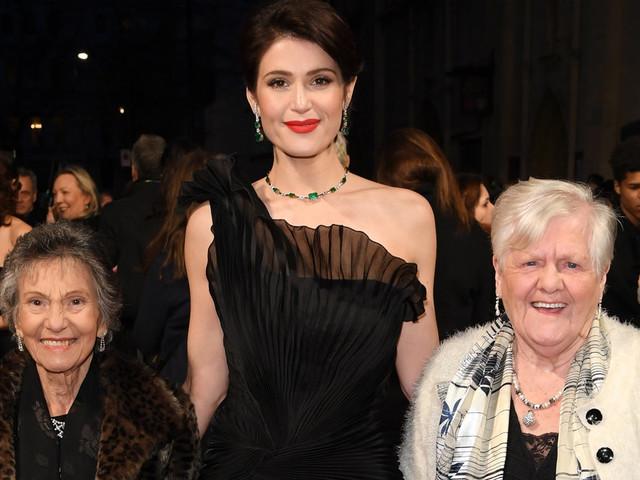 Baftas 2018: Gemma Arterton Attends With 'Original Dagenham Girls' Gwen Davis And Eileen Pullen