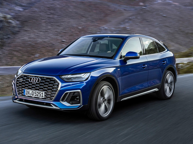 New Audi Q5 Sportback: mid-sized SUV receives coupe treatment