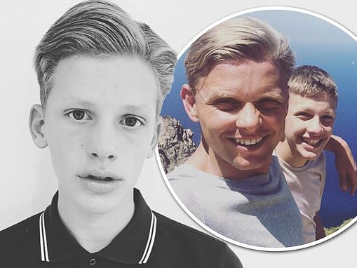 Jeff Brazier posts modelesque snaps of lookalike son Freddie as fans gush over resemblance