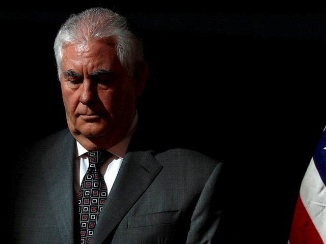 Rex Tillerson out as Secretary of State
