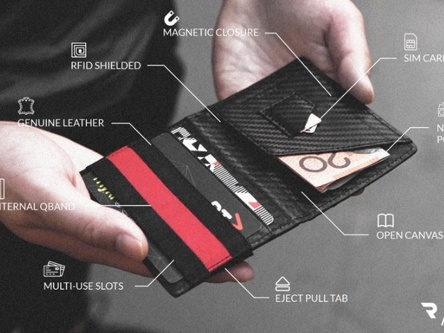 Zero 3 carbon fibre wallet from $29