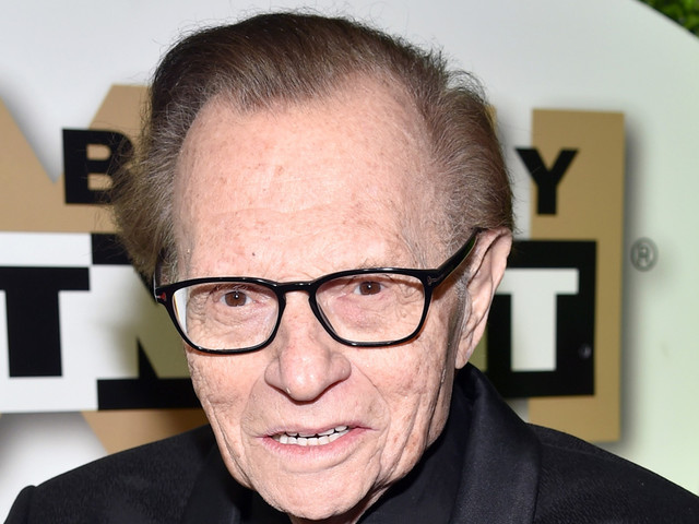 Larry King Reveals Stage 1 Lung Cancer Diagnosis