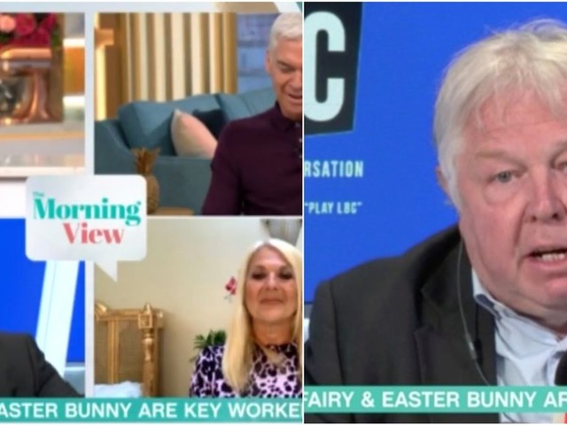 This Morning stars and guests get involved in bizarre row