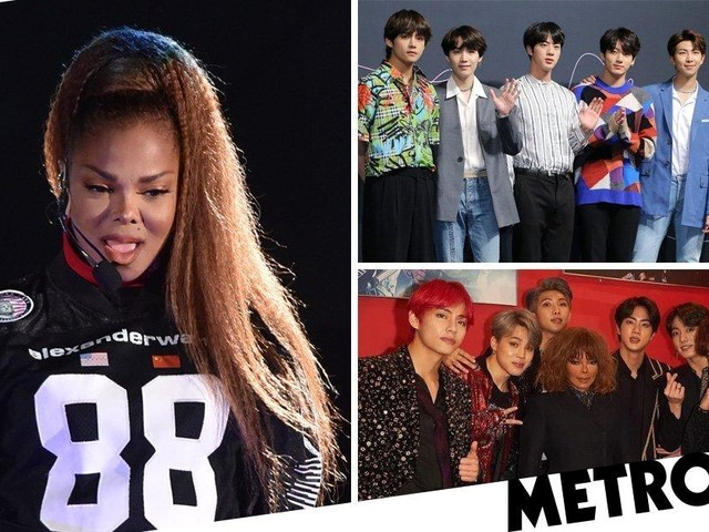 BTS and Janet Jackson become new BFFs as they meet backstage at Mnet Asian Music Awards