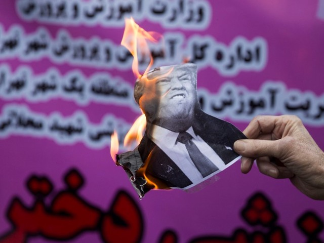 Simple economics show how Trump is beating up on Iran without firing a shot