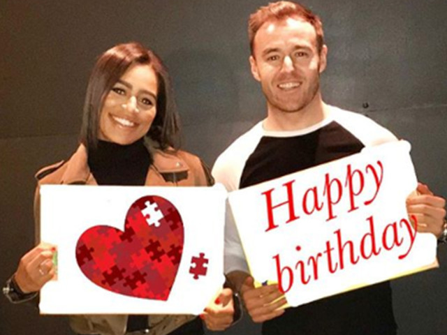 Coronation Street's Alan Halsall says girlfriend Tisha Merry 'puts a smile on my face every day' as he reveals how close she is to his daughter Sienna