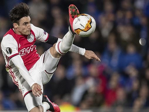 Chelsea 'interested in Ajax left-back Nicolas Tagliafico' as Ben Chilwell pursuit falters