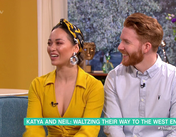 Katya Jones complains that the Seann kiss has 'dragged on' in awkward interview as Phillip Schofield quizzes her about cheating