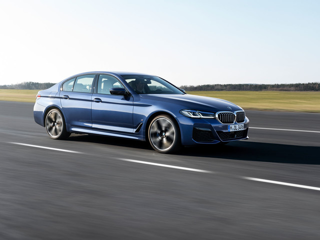 BMW 5 Series update brings 523bhp M550i flagship to UK