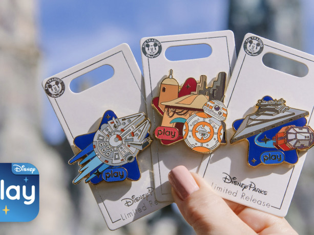 Celebrate Your Play Disney Parks Achievements With These New Star Wars Pins!