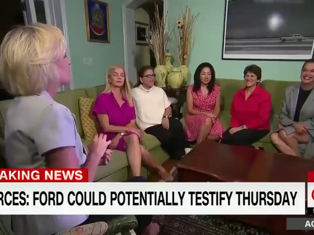 CNN asked women if they believe Judge Kavanaugh. This was not the response they were expecting.