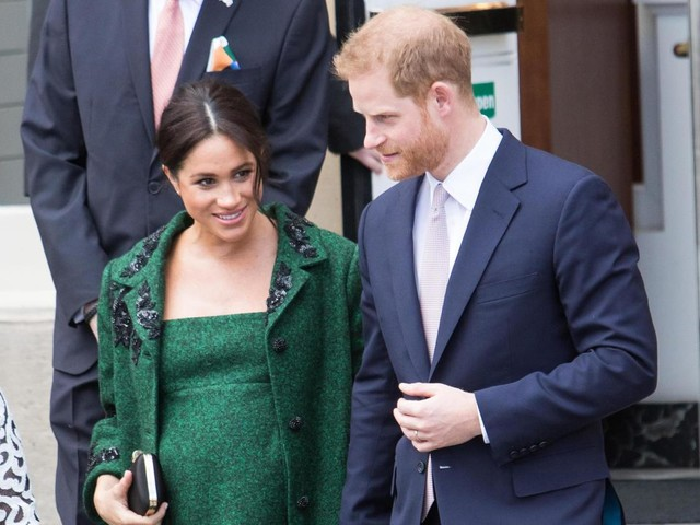 Meghan Markle and Prince Harry appear to have received a special delivery after designer pram brand iCandy is spotted at Frogmore Cottage