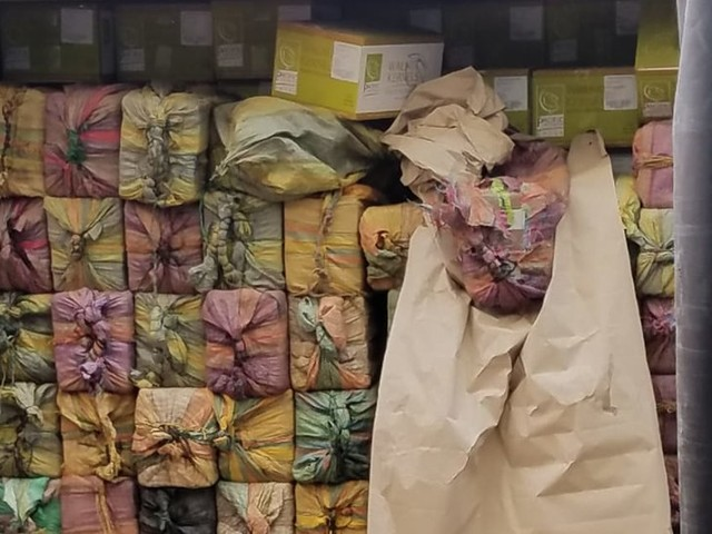 A Shipping Manifest Said the Container Held Dried Fruit. Inside Was 3,200 Pounds of Cocaine.