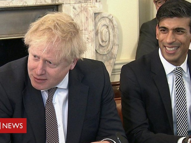 Smiles as Boris Johnson's new cabinet meets for the first time