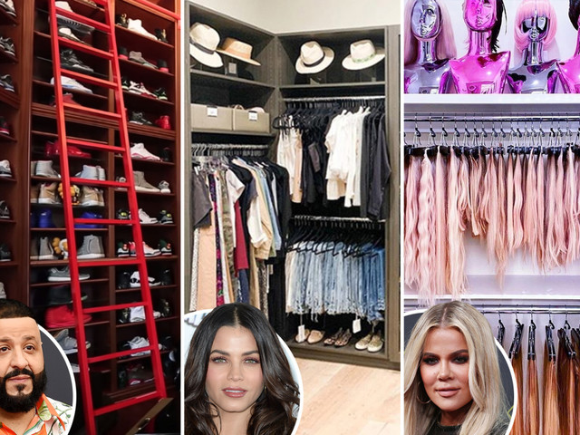 Inside the most lavish celeb wardrobes – from Khloe Kardashian's 'extension room' to Mariah's 'gold only' shoe cupboard