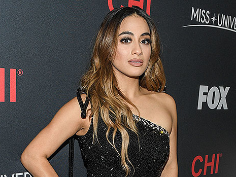 Ally Brooke Stuns In Sparkly White Bandeau Top & Pants As She Opens Miss Universe 2019