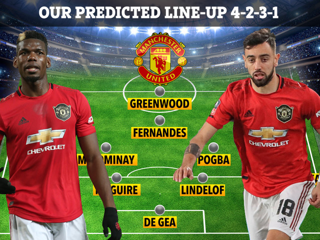Five ways Man Utd could line up with Paul Pogba and Bruno Fernandes together including with Portuguese star as the No10