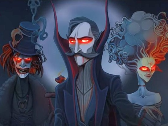 Rogue Lords is a roguelike where you play as the devil taking revenge on Demon Hunters
