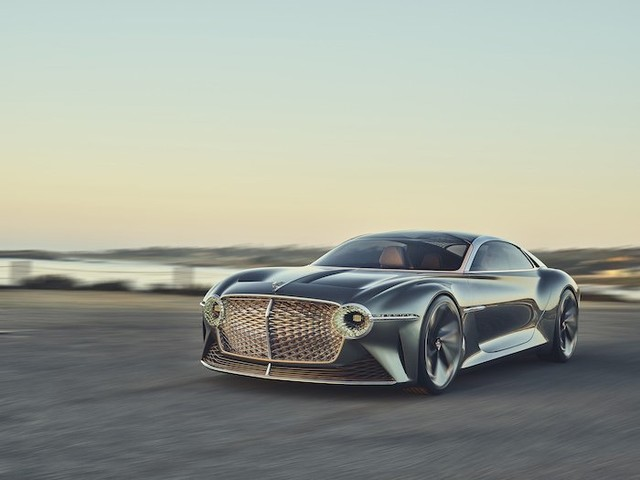 Here are some more photos of the Bentley EXP 100 GT