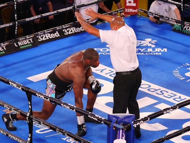 Joe Joyce beats rival Daniel Dubois with stunning stoppage victory